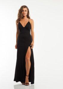 שמלת נשף שחורה