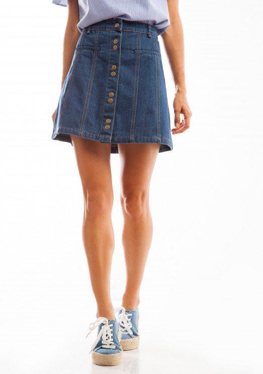 טרנד חדש ומוזר – ג'ינס חצאית